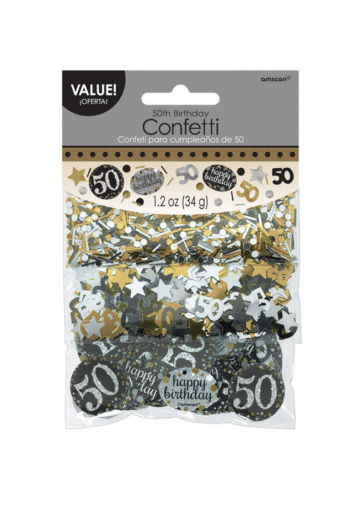 Gold Celebration 50th Confetti
