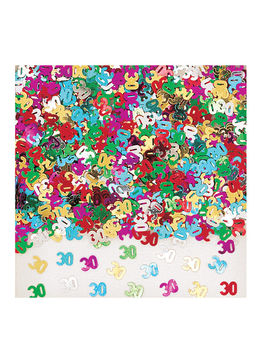 Radiant Birthday 30th Confetti