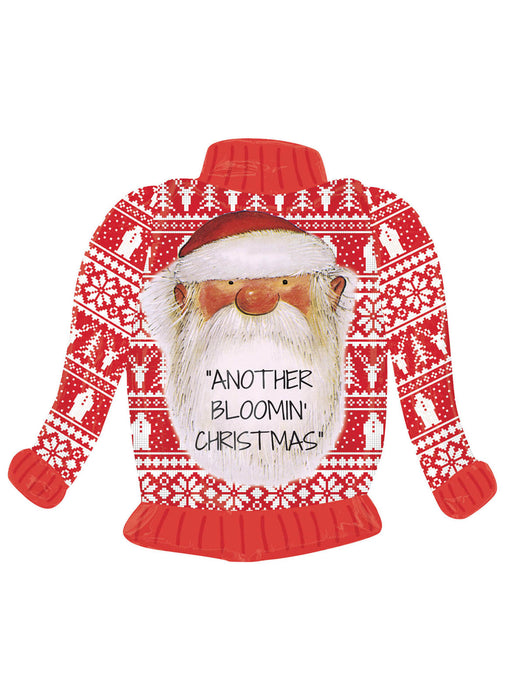 Father Christmas Jumper SuperShape Balloon