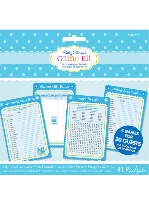 Welcome Baby Boy Game Kit