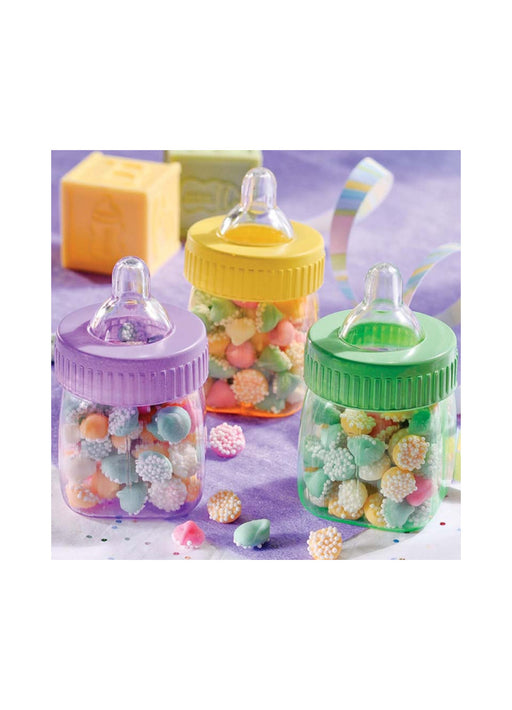 Baby Shower Bottle Containers 6pk