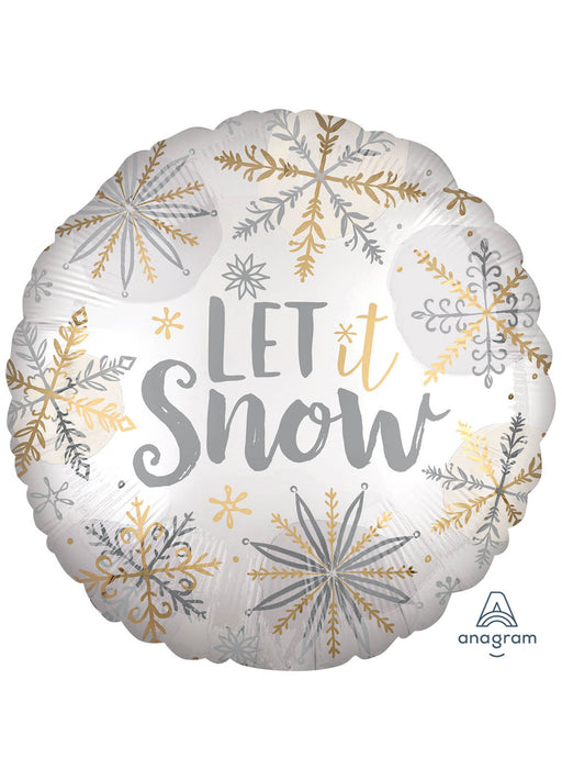 Let It Snow Foil Balloon