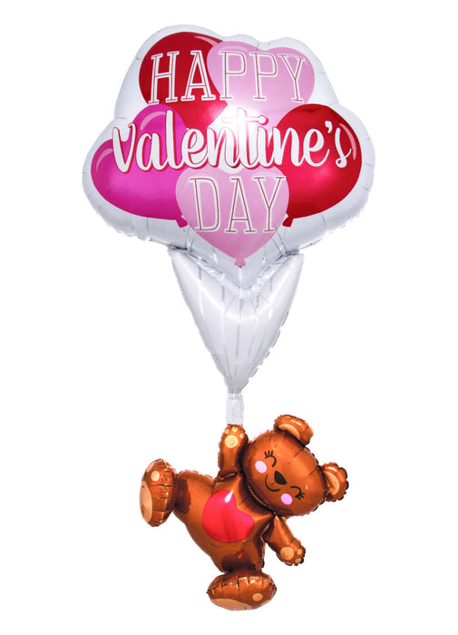 Giant Valentine's Day Floating Bear Balloon