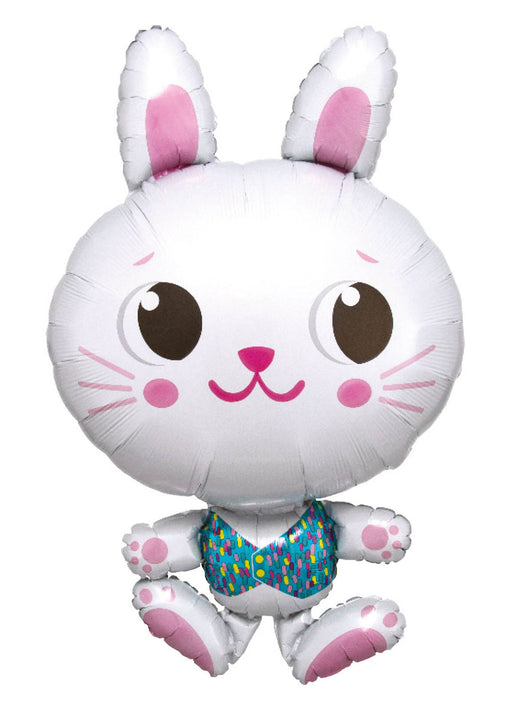 Easter Bunny SuperShape Foil Balloon
