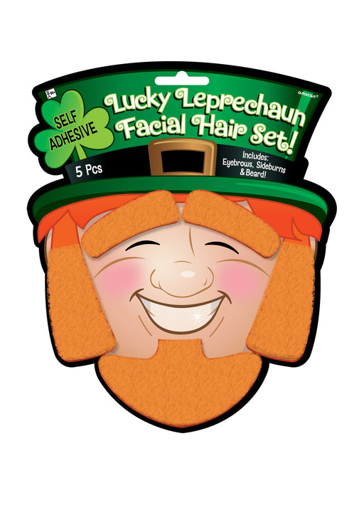 Lucky Leprechaun Facial Hair Set