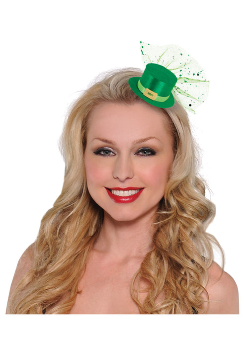Mini Leprechaun Hair Clip