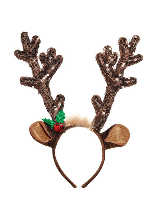 Reindeer Sequin Headband