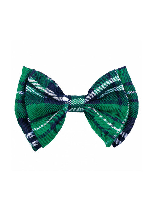 St Patrick's Day Plaid Bow Tie