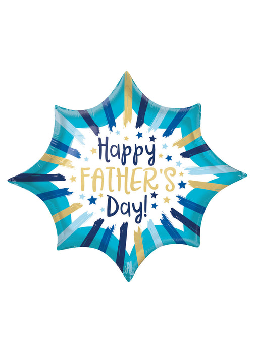 Father's Day Stripes SuperShape Balloon