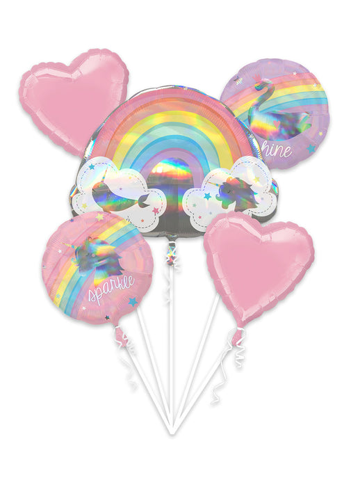 Magical Rainbow Balloon Bouquet
