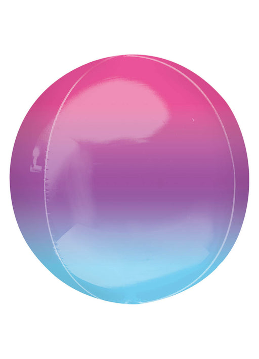 Purple & Blue Ombre Orbz Balloon