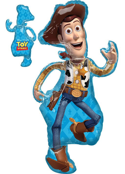 Toy Story 4 Woody SuperShape Foil Balloon