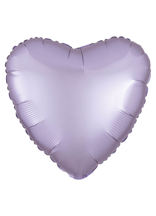 Satin Lilac Heart Foil Balloon