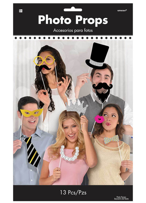 Fancy Photo Booth Props Kit
