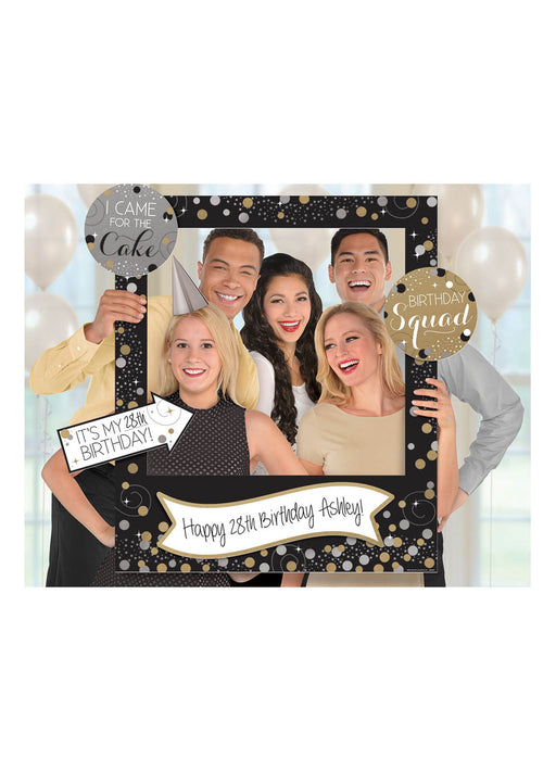 Gold Celebration Photo Frame