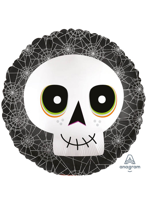 Satin Skull Foil Balloon