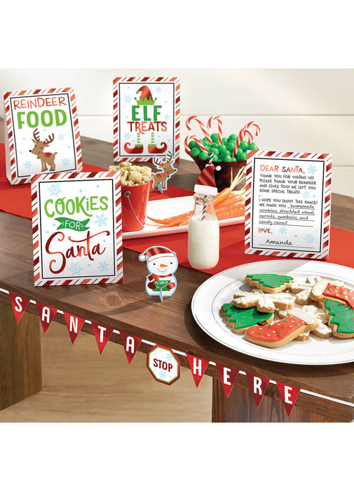 Santa Stop Here Decoration Kit