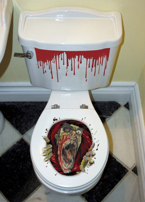 Toilet Seat Grabber Decoration