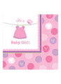 With Love Girl Napkins 16pk