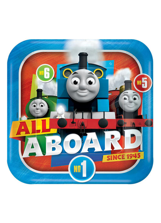 Thomas The Tank Engine Plates 8pk