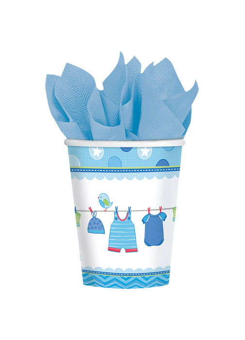 With Love Boy Cups 8pk