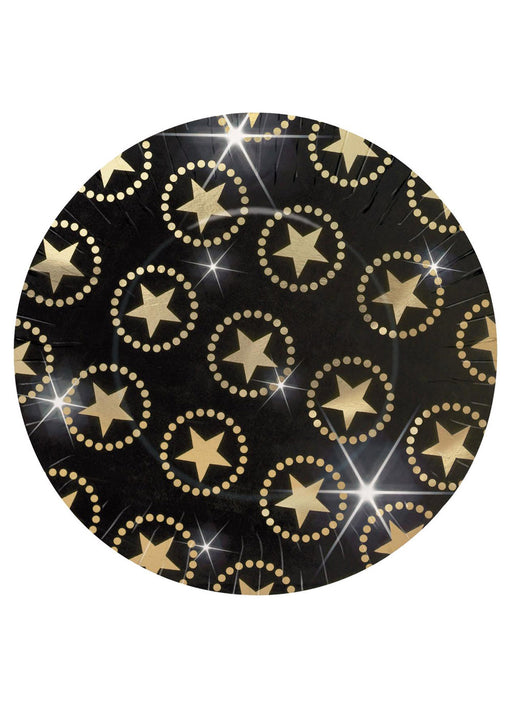 Hollywood Party Plates 8pk