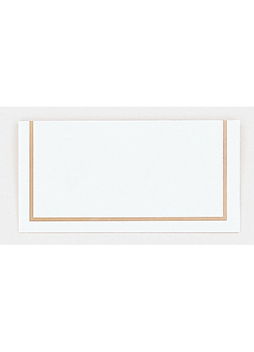 Classic Gold Place Cards 50pk