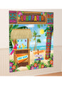 Hawaiian Tiki Wall Decorating Kit