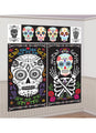 Day Of The Dead Wall Decorating Kit