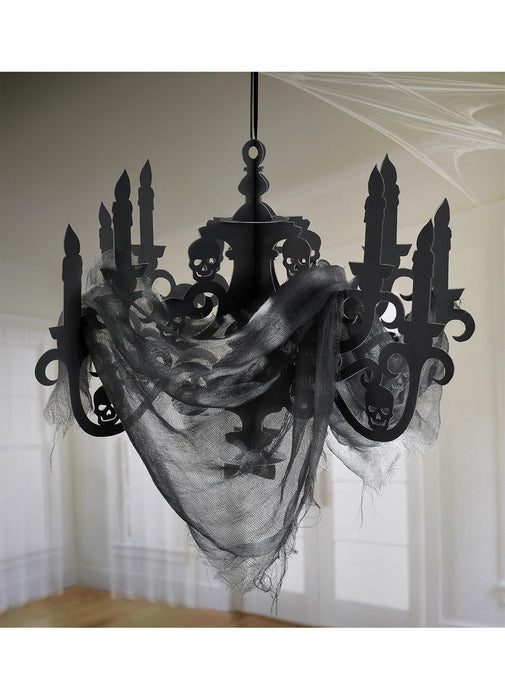 Candelabra Set With Gauze
