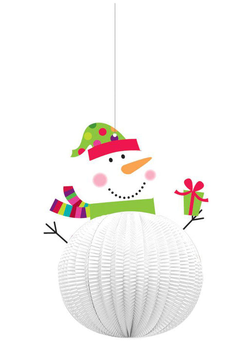 Snowman 3D Hanging Decorations