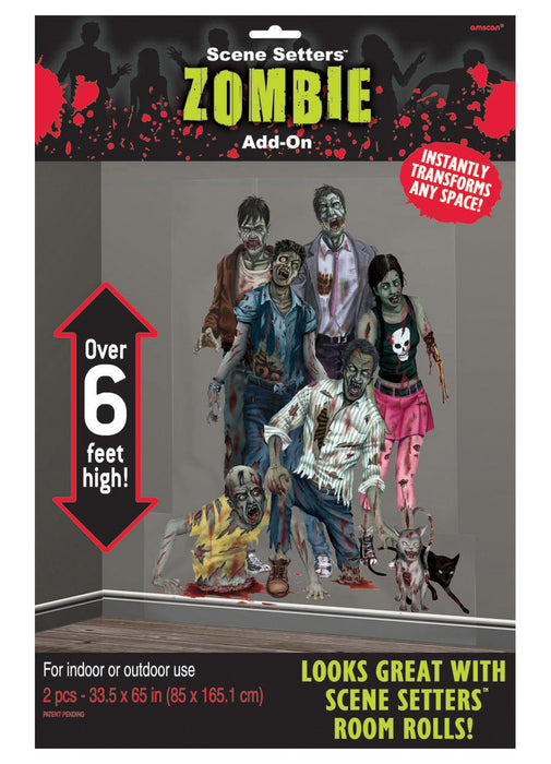 Scene Setters Zombie Family Add-On