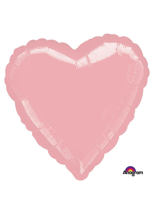 Light Pink Heart Foil Balloon
