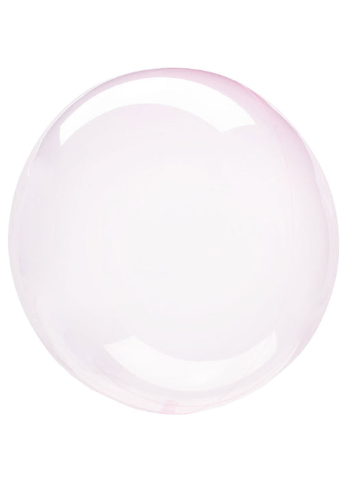 Crystal Light Pink Clearz Balloon