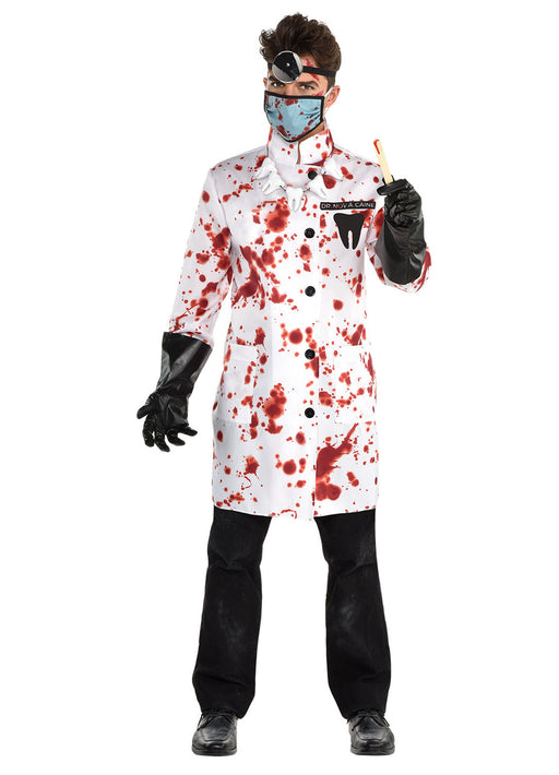 Demented Dentist Costume Adult