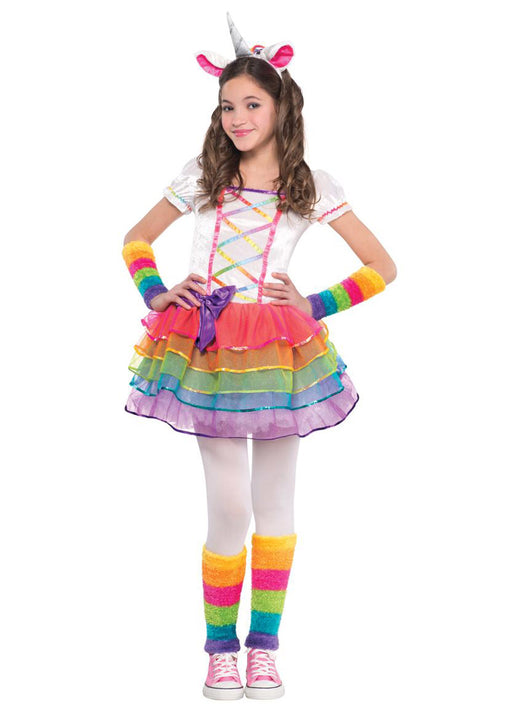 Rainbow Unicorn Costume Child