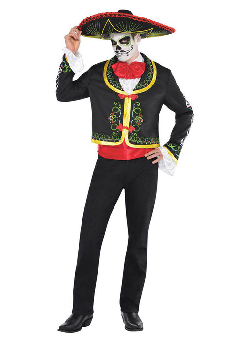 Day Of The Dead Senor Costume Adult