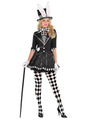 Dark Mad Hatter Lady Adult