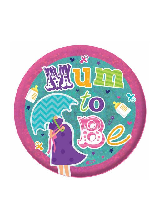 Mum To Be Giant Badge