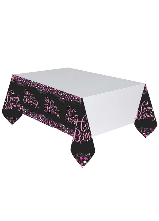 Pink Celebration Tablecover