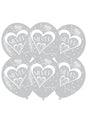 25th Anniversary Latex Balloons 6pk
