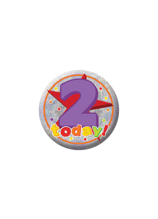 Happy 2nd Birthday Badge