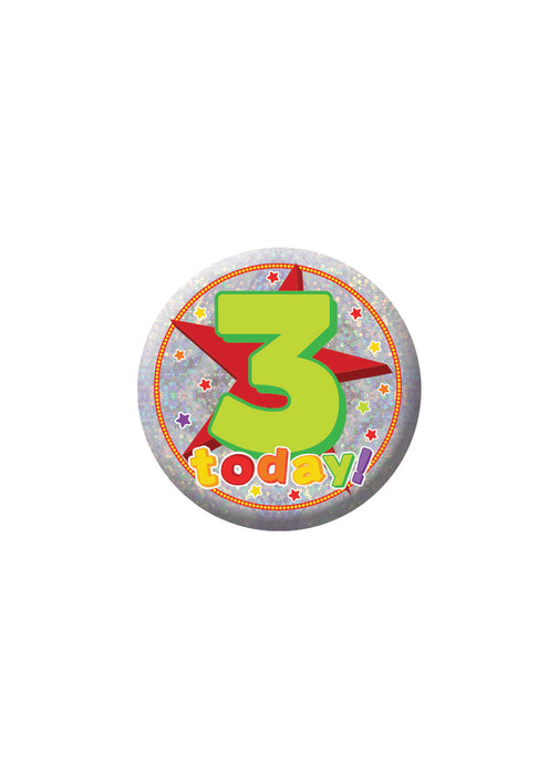 Happy 3rd Birthday Badge