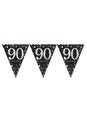 Gold Celebration 90th Bunting