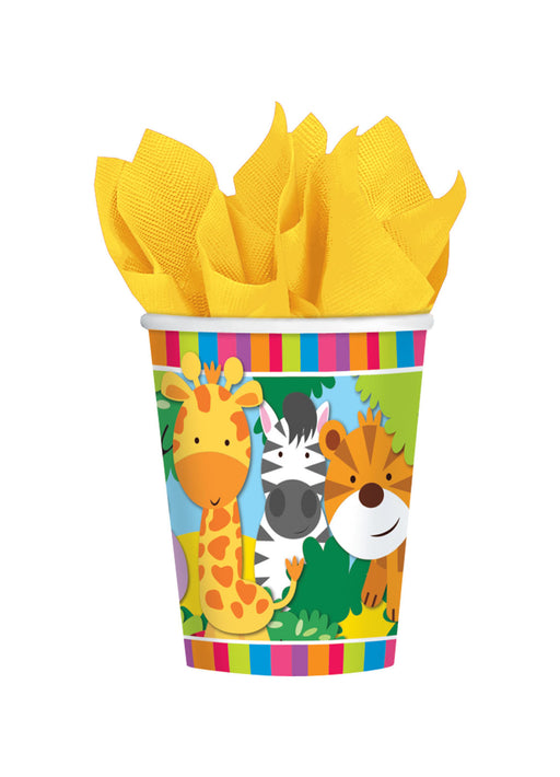 Jungle Friends Cups 8pk