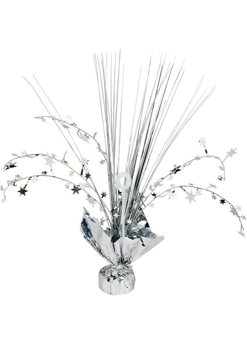 Silver Balloon Weight Centerpiece