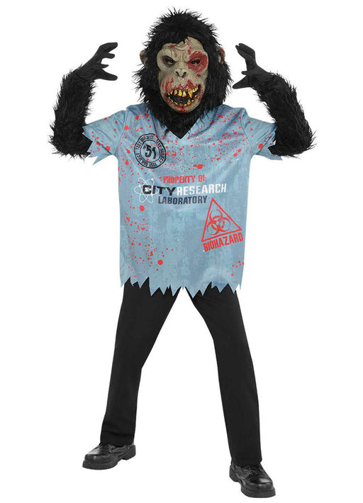 Chimp Zombie Costume Child