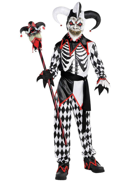 Sinister Jester Costume Child