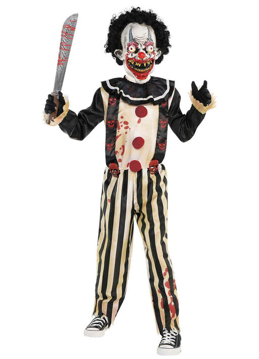 Slasher Clown Costume Child