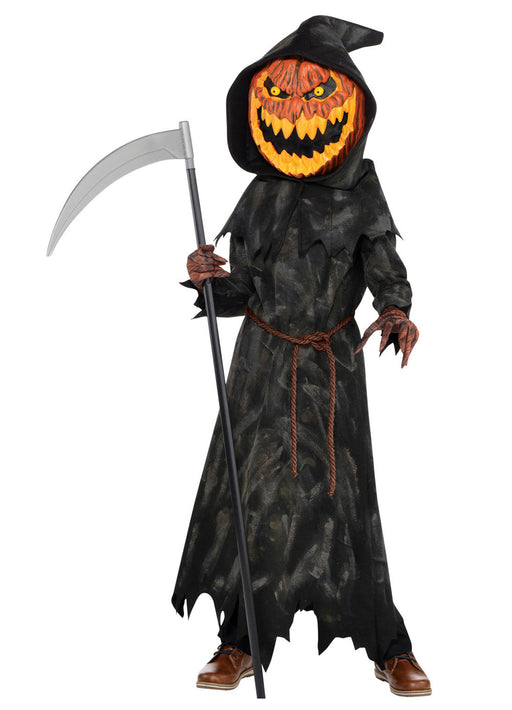 Jack-O-Head Costume Child